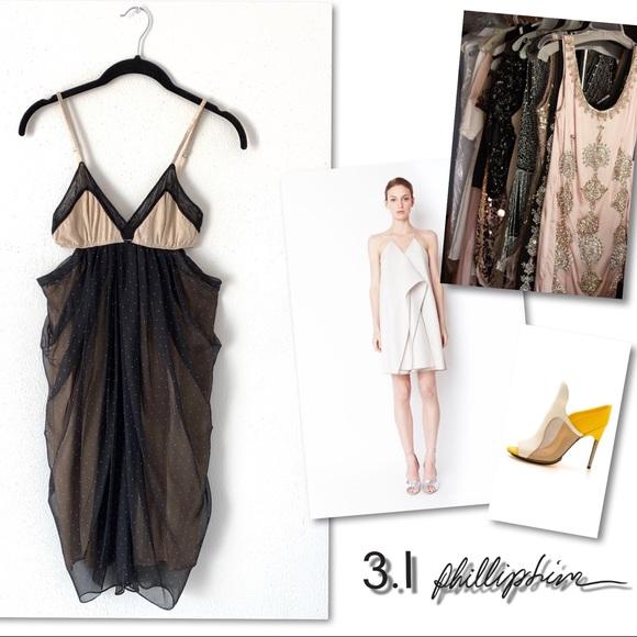 3.1 Phillip Lim Dresses & Skirts - 3.1 Philip Lim silk cut out Dress SZ 0